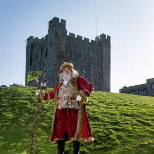 Father Christmas at Bamburgh Castle